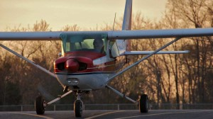 Student in Cessna 152